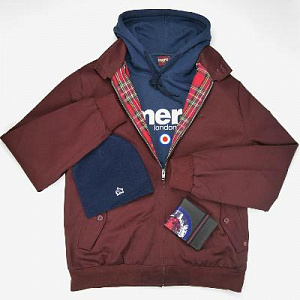 Harrington Jacket & Pill hoodie
