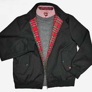 Harrington in black