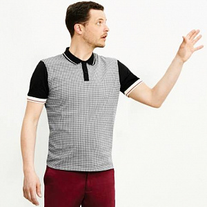 Corona Dogtooth Polo Shirt