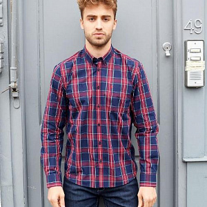 Harcourt check shirt