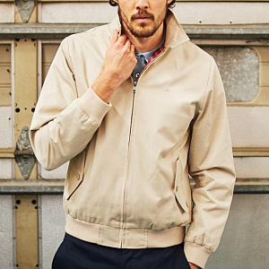 Harrington Jacket in beige color