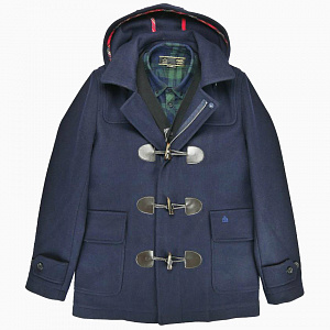 Bonner Duffle Coat in navy