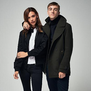 Doyle Peacoat & Women Harrington